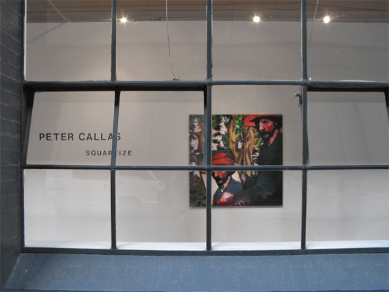 PETER CALLAS    Installation 2004