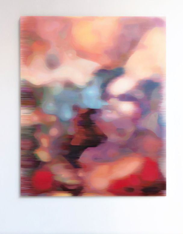 JOHN YOUNG     LKM (Pink)  2015 Oil on linen 156 x 126 cm