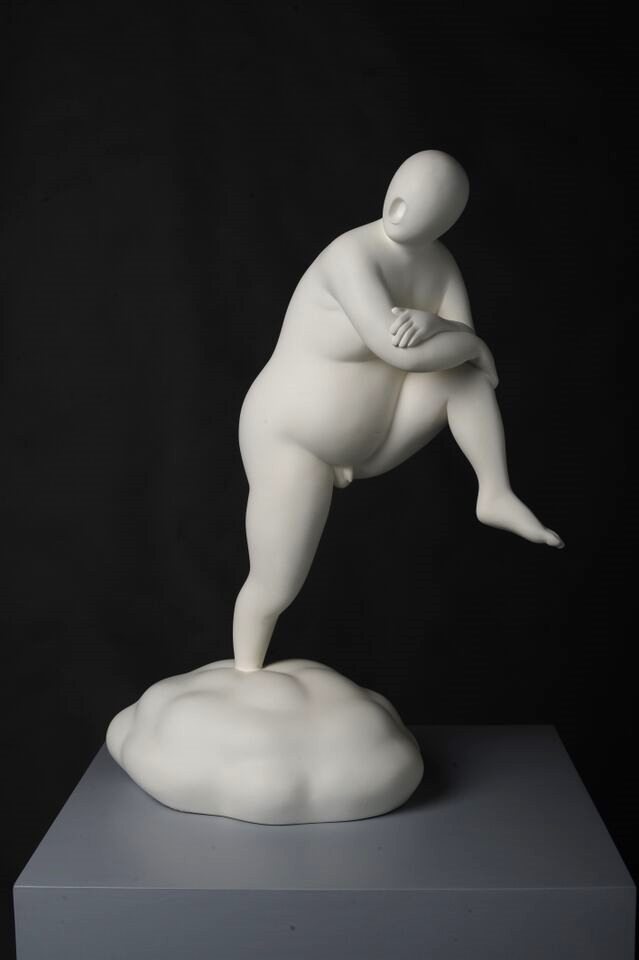 Cloud No.1 , 2009, Bronze Statue, 55 x 41cm