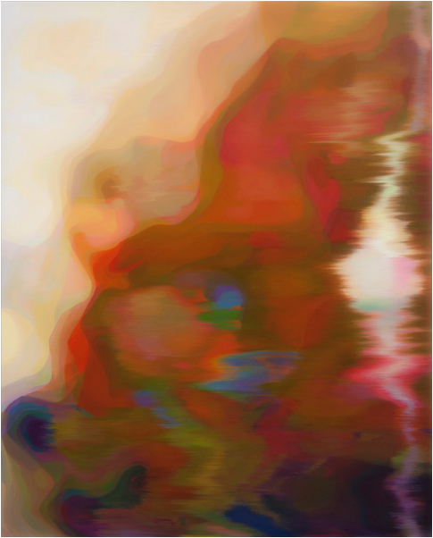 JOHN YOUNG    LKM (Gold)    2015   156 x 126 cm   Oil on linen