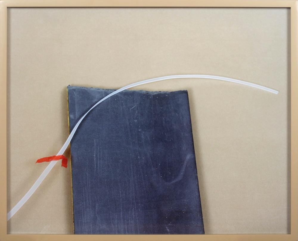 LYDIA WEGNER    Slate Wave    2012   54 x 66 cm