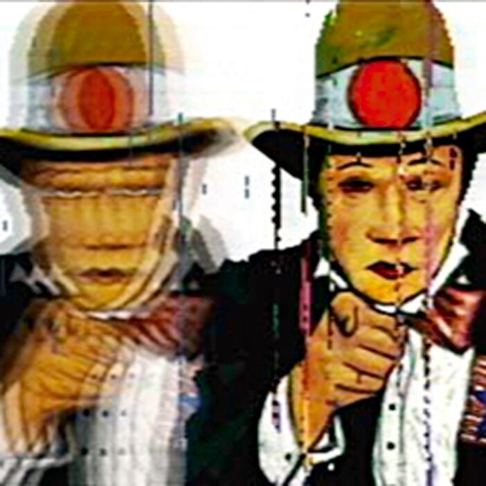 Japanese Uncle Sam, Neo Geo , 2003,  Squareaize  series, Chromogenic print, 100 x 100 cm