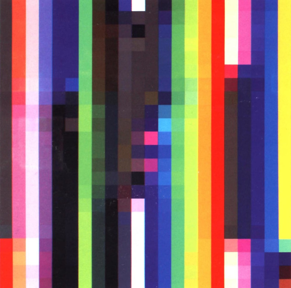 Spectrum Shift # 1 , 2004, acrylic on canvas, 198 x 198 cm