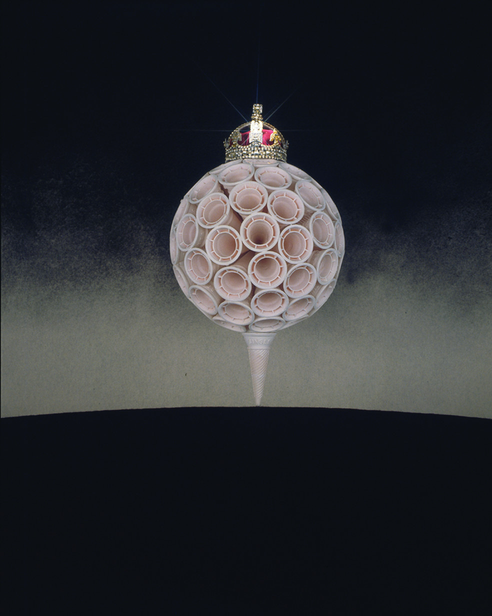 Work to Rule IV , 1986-7, C type Photograph, 122 x 101 cm