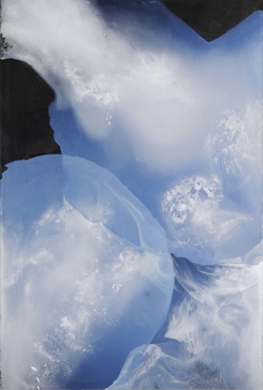 Take a Deep Breath , 2008, Mixed Media on Canvas, 194 x 133 cm