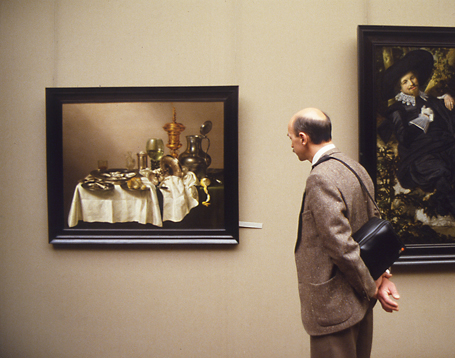 ANNE ZAHALKA     Rijks Museum, Amsterdam  1988/2010 Type C Photograph edition of 5 50 x 38 cm