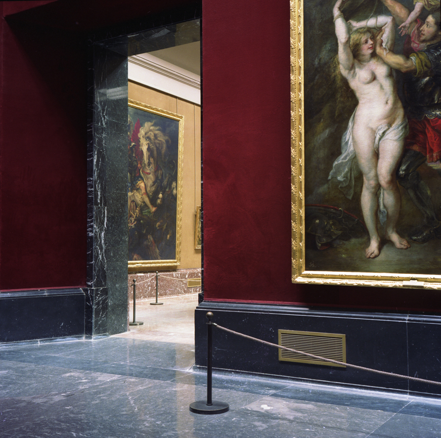 ANNE ZAHALKA     Prado Museum, Madrid  1992/2010 Type C Photograph, Edition of 5   80 x 80 cm