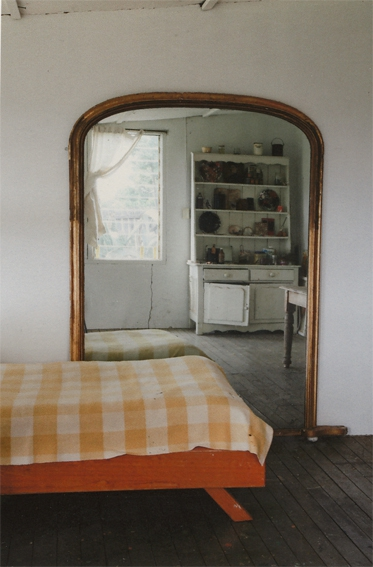ANNE ZAHALKA   Haefliger's Cottage, Studio #1    2010   Type C Photograph   30 x 20 cm