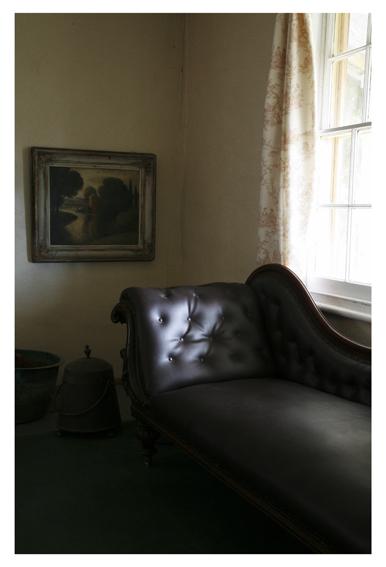 ANNE ZAHALKA     Haefliger's Cottage, Interior #4  2010 Type C Photograph   30 x 20 cm