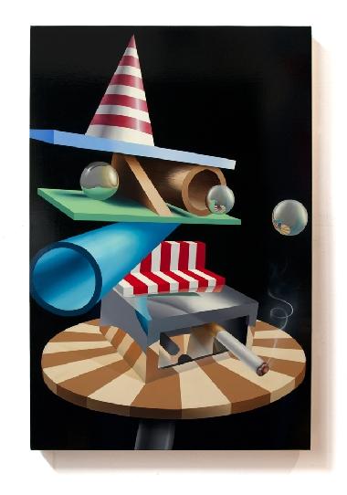PETER DAVERINGTON   Uncle Bob  2012 Oil on canvas 91 x 61 cm