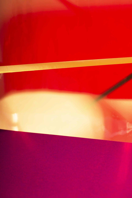 LYDIA WEGNER   Sunset Red  2015 Archival Inkjet Print, 1/4 78 x 52cm