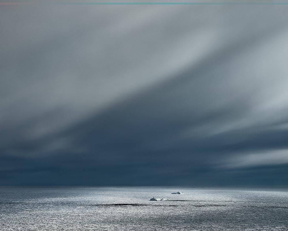 MURRAY FREDERICKS     Icesheet #2868  2013 digital pigment print, edition of 7 120 x 150 cm