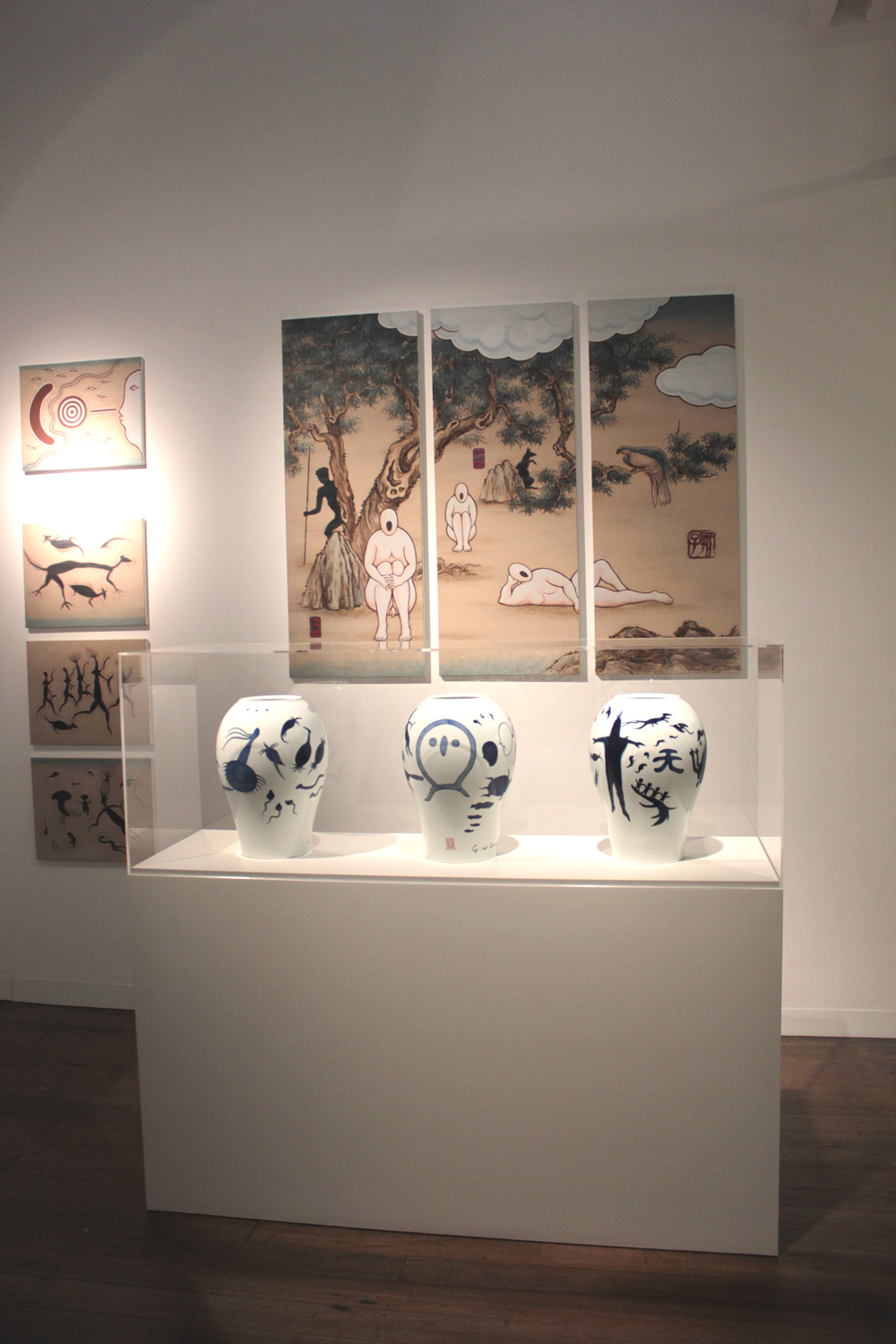 GUAN WEI     Key Works , Exhibition View, 2015