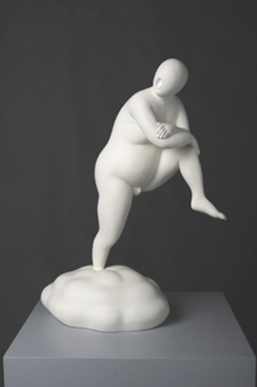 GUAN WEI    Cloud No.1    2009   Bronze Statue Ed. 5/5.(Signed and Editioned by the artist) 55 x 41 cm