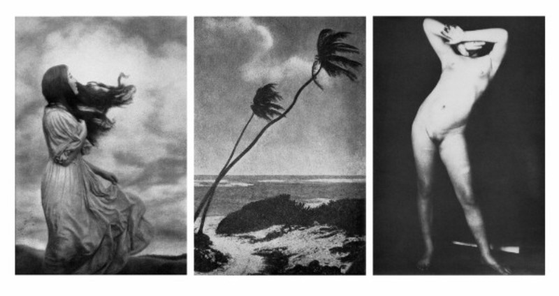 Pat Brassington,  Untitled,  1989, silver gelatin print, triptych: 144 x 94 cm (each image size).
