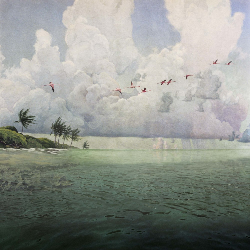 ANNE ZAHALKA     Rising Tide  2006/07 Type C photograph edition of 10   80 x 80 cm