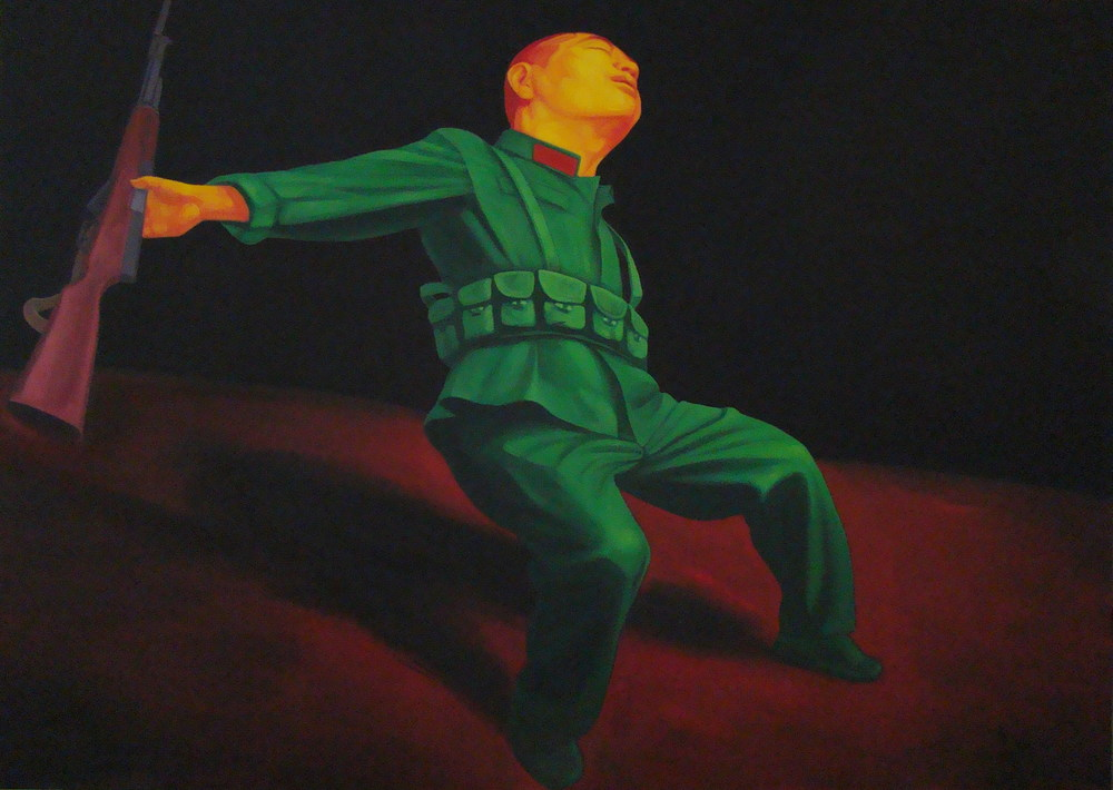 Untitled , 2008, Oil on canvas, 152 x 213 cm