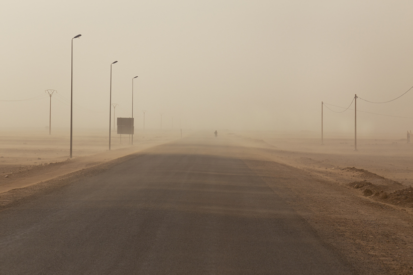 Anne Zahalka, 'Untitled (Road to Zagora)', 2015, archival pigment print on rag paper, 66.6 x 100cm.
