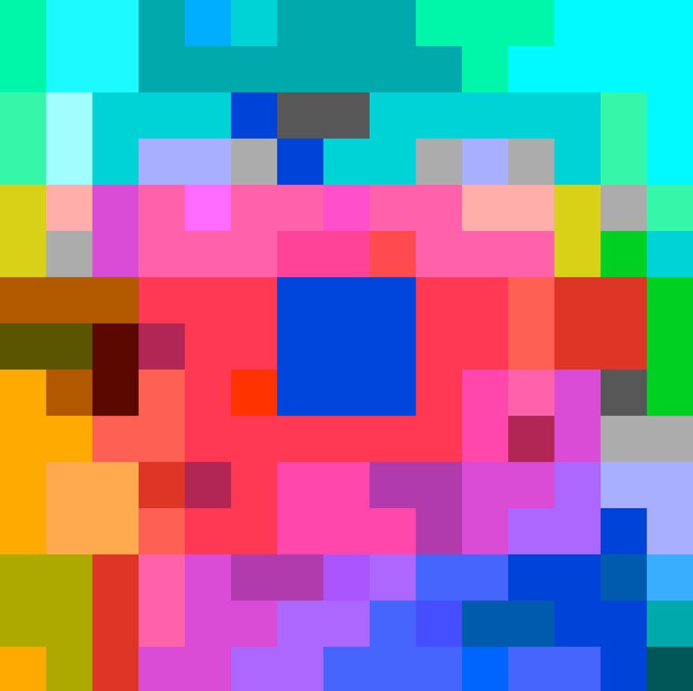 ROBERT OWEN   Inside the Crystal #45  2014-2016 Inkjet print on 310gsm 80 x 80 cm