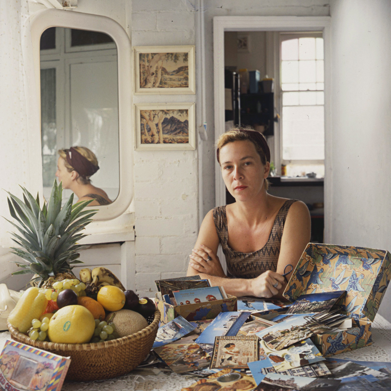 ANNE ZAHALKA     The Collector (self-portrait)  1987 Cibachrome photograph, edition of 10 50 x 50 cm
