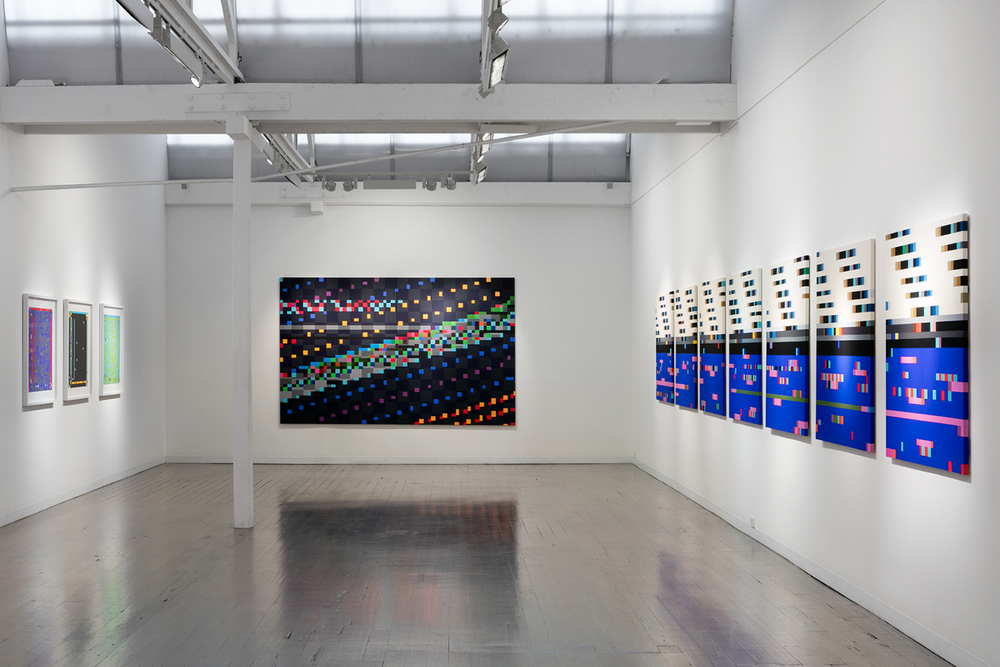 Robert Owen, installation view.