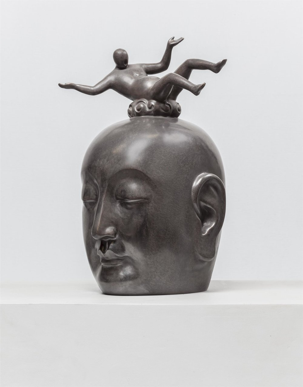 Salvation No.3 , 2015, bronze sculpture, 45 x 28 x 24 cm