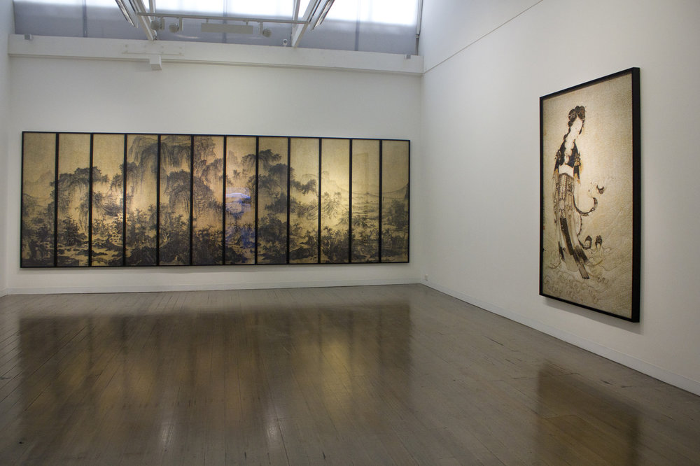 GUO JIAN   The Encroachment  Install view