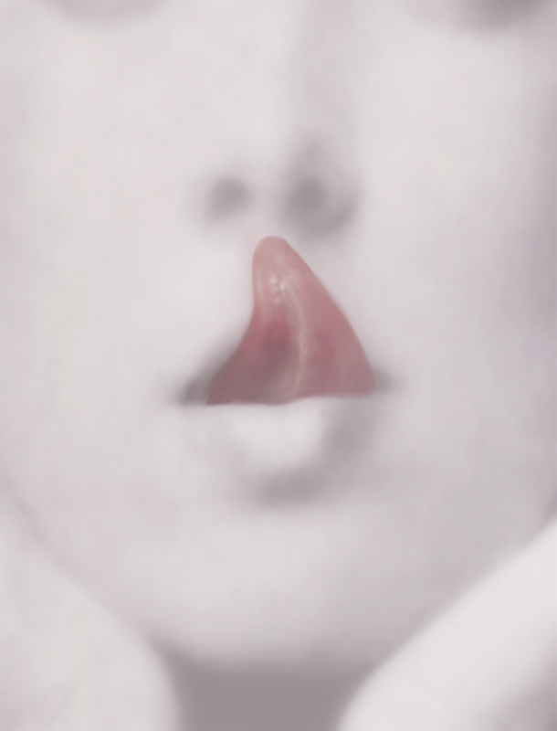 PAT BRASSINGTON   Tell  2006 Pigment print 85 x 65cm