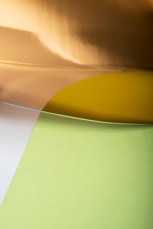 LYDIA WEGNER   Middle Gold Blue  2015 Archival Inkjet Print 78 x 52 cm