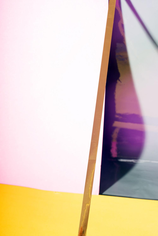 LYDIA WEGNER   Purple Wind  2015 Archival Inkjet Print 78 x 52 cm