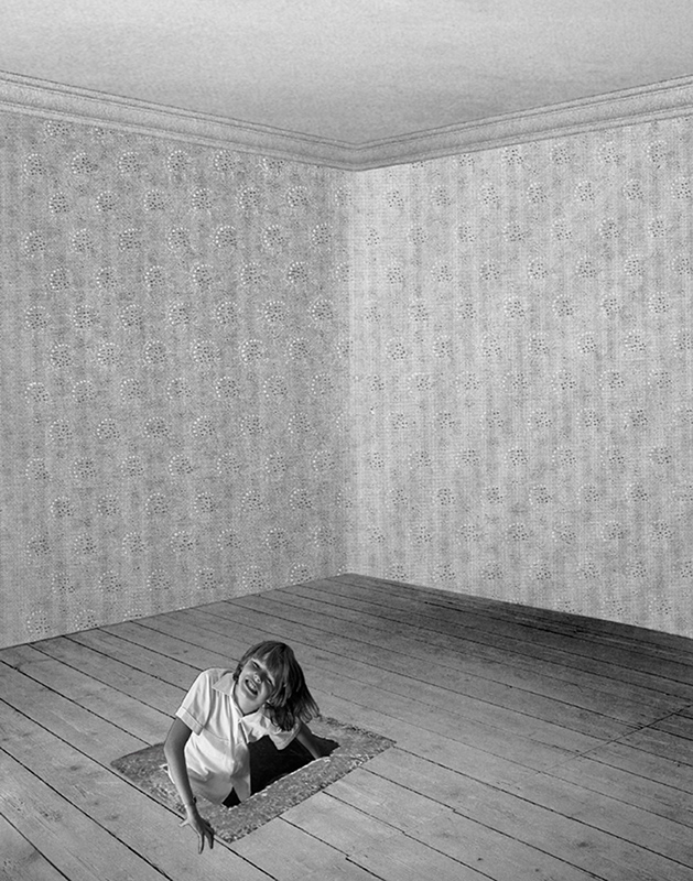 PAT BRASSINGTON   Below Stairs 2  2009 Pigment print 66 x 52 cm