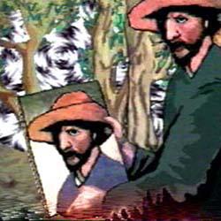 Peter Callas, Night's High Noon: An Anti-Terrain, 1988 (video still)