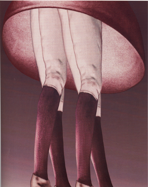 PAT BRASSINGTON   Twins   2001 Pigment print 69 x 55cm
