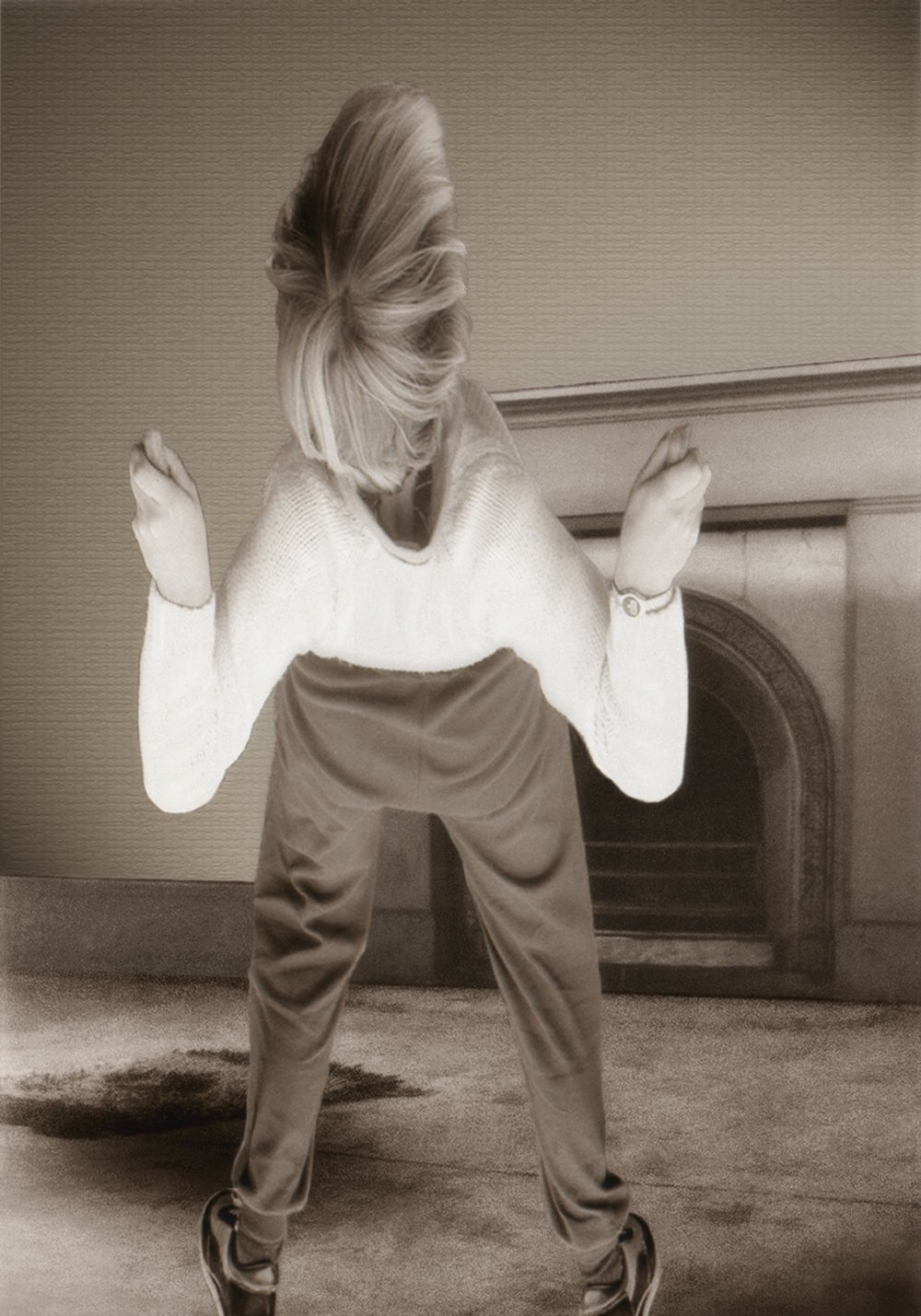 PAT BRASSINGTON   The best move  2008 Pigment print 78.5 x 55cm
