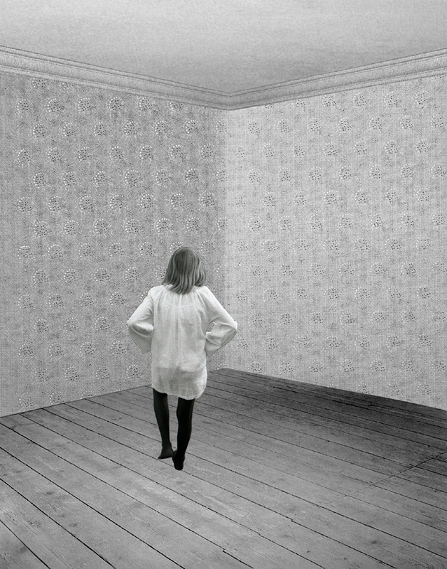PAT BRASSINGTON   Below Stairs 3  2009 Pigment print 66 x 52 cm