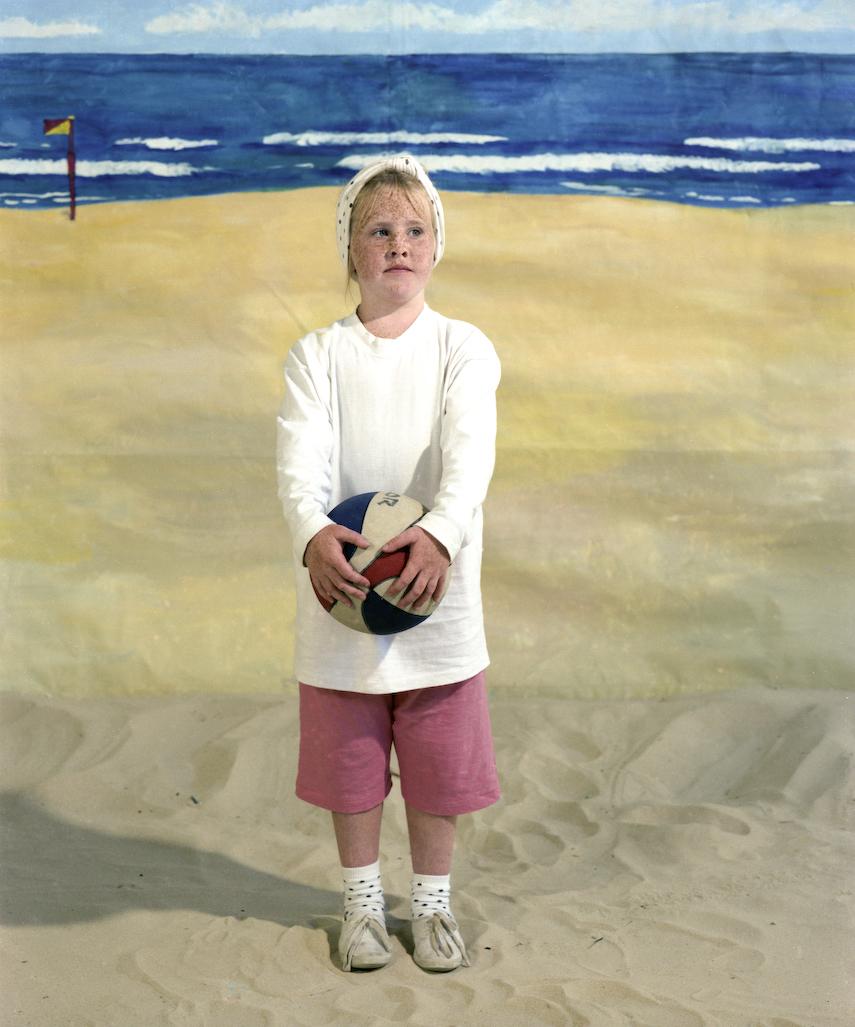 ANNE ZAHALKA   The Girl  1989 Type C print 74 X 90cm