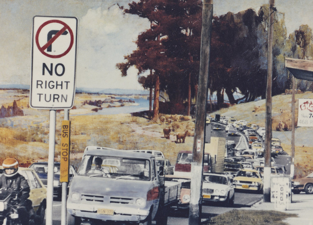 ANNE ZAHALKA   Great Western Highway  1983 Type C print 23.5 cm x 31.6cm