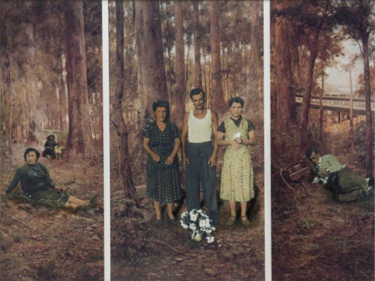 ANNE ZAHALKA   The Immigrants #2  1983