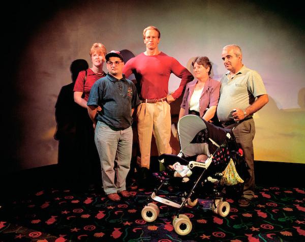 ANNE ZAHALKA   Madam Tussaud's Wax Museum  1998 Type C print