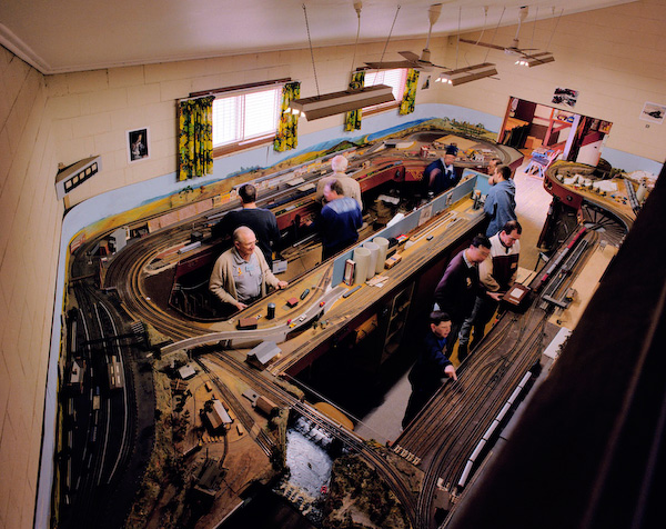 ANNE ZAHALKA   Model Railway Club  1999 Type C print