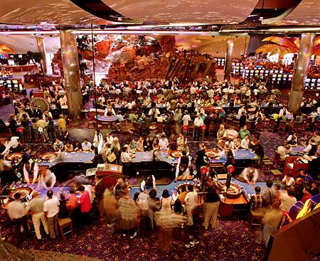 ANNE ZAHALKA   Star City Casino  1998 Type C print 115 x 145 cm