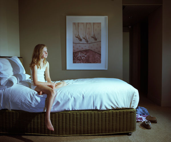 ANNE ZAHALKA   Room 4513 (with artwork by Pat Brassington), Hotel Suite  2008 Type C prints 75 x 92.5 cm