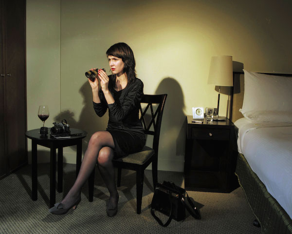 ANNE ZAHALKA   Room 3905, Hotel Suite  2008 Type C prints 75 x 92.5 cm