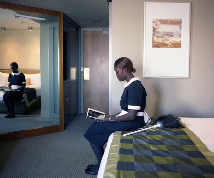 ANNE ZAHALKA   Room 3621, Hotel Suite  2008 Type C prints 75 x 92.5 cm