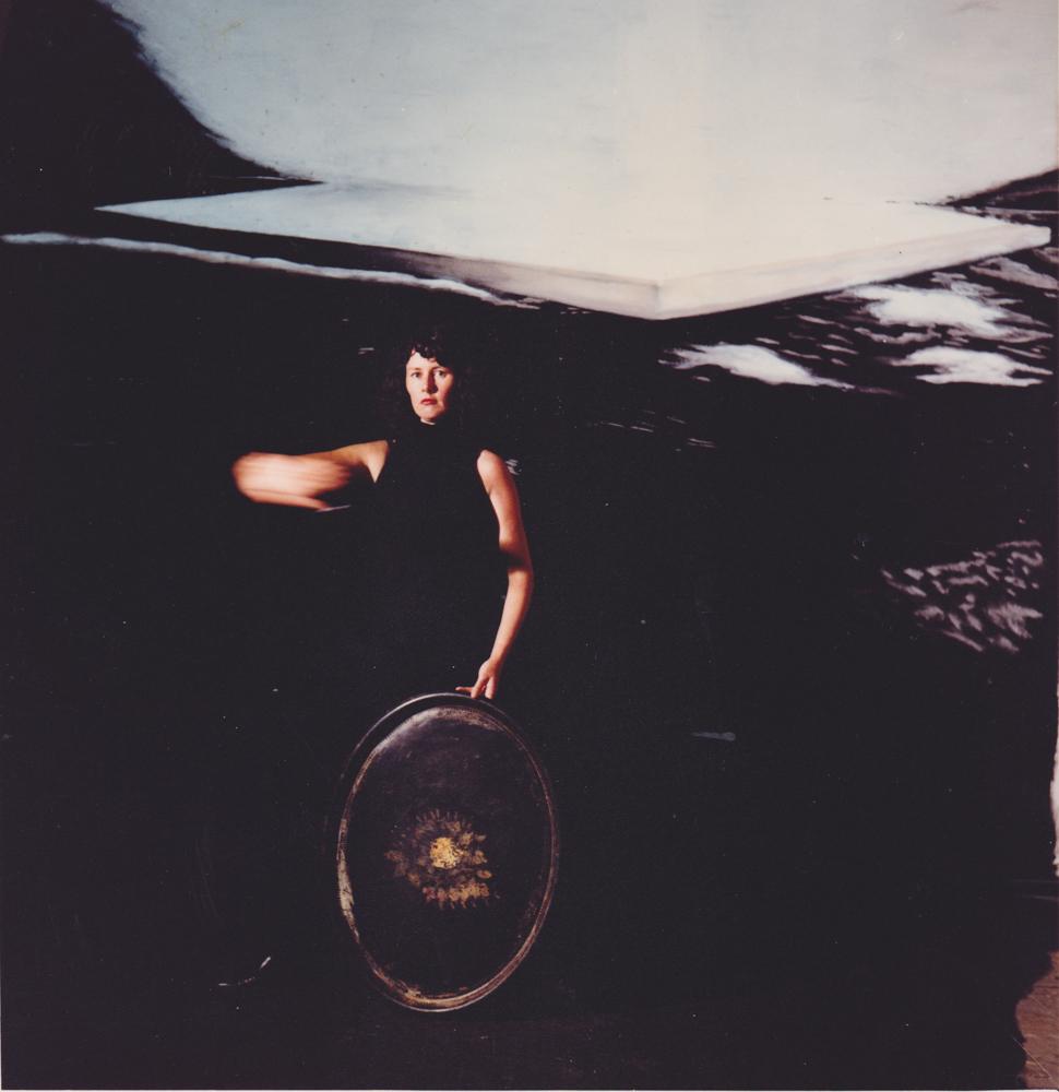 ANNE ZAHALKA   artist #25 (Brenda Ludeman)  Duraflex print mounted onto perspex with engraving 85cm x 87cm