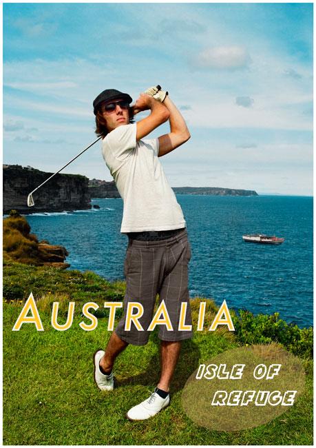 ANNE ZAHALKA   Australia, Isle of Refuge  2009 Type C prints, Editions of 5 + 2 A/PS 119 x 84cm and 84 x 59.5cm