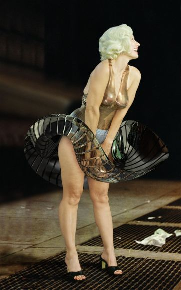JULIE RRAP   Window Dresser No. 1 (Marilyn)  2000 Digital Print 195 x 122 cm