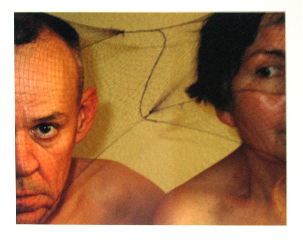 ROSE FARRELL & GEORGE PARKIN   Self Portrait #2  2004 Type C Colour Photograph 60 x 78 cm