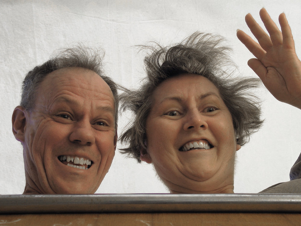 ROSE FARRELL & GEORGE PARKIN   Self Portrait #3  2005 Type C Colour Photograph 60 x 80 cm