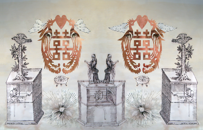 ROSE FARRELL & GEORGE PARKIN   Double Happiness Fountainhead   2009 Digital inkjet on archival cotton rag 61.0 x 96.0 cm